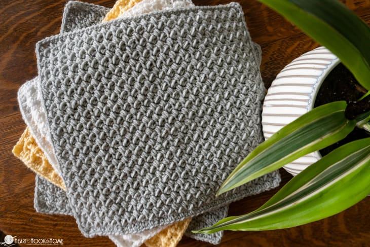 Mini Bean Crochet stitch tutorial