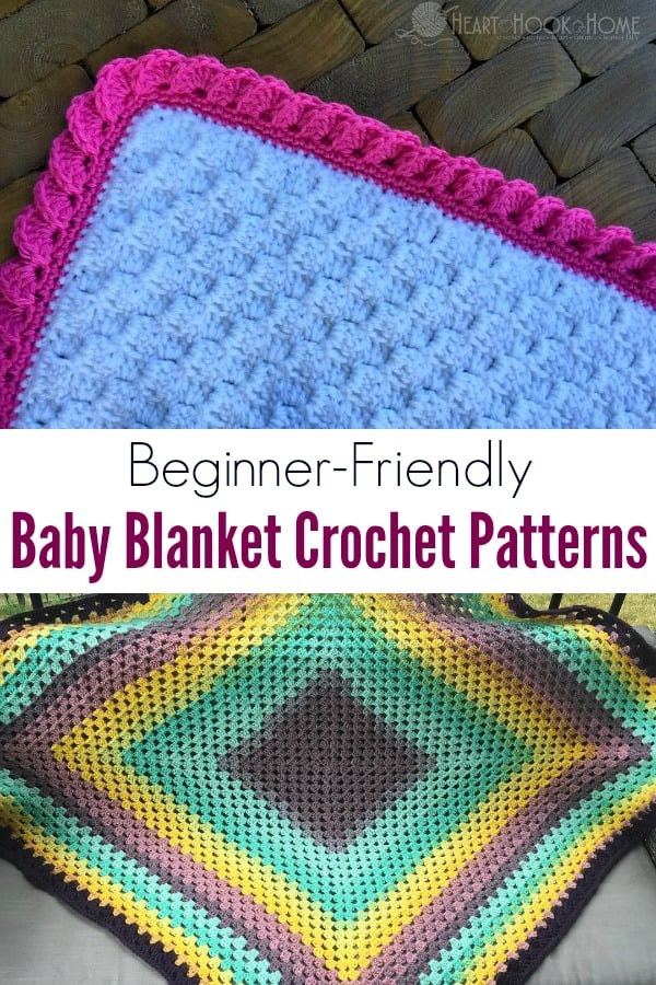 10 Beginner Friendly Baby Blanket Crochet Patterns