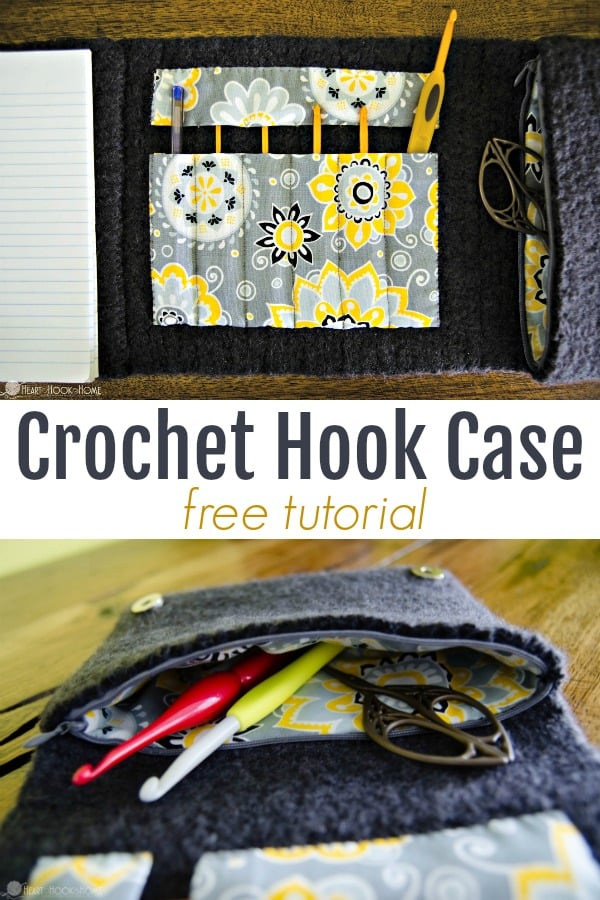 Crochet Hook Case Free Tutorial