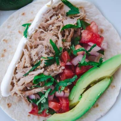 Quick & Easy Instant Pot Carnitas Street Tacos Recipe