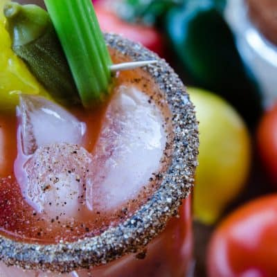 Not Yet Bloody Mary Mix – a Spicy Make-Ahead Bloody Mary Concentrate