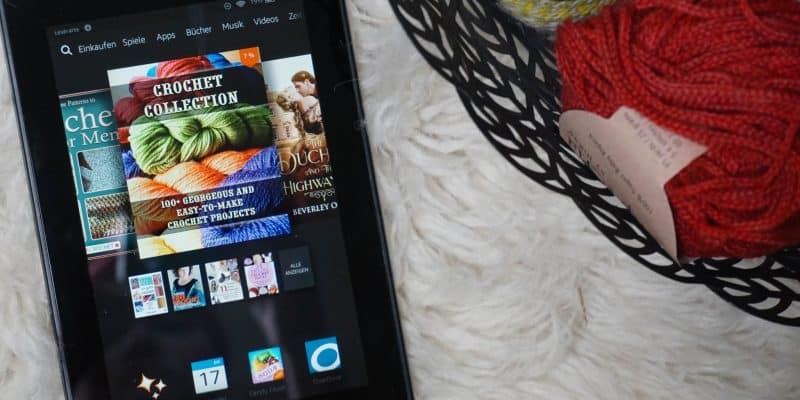How to use your Kindle for Crochet