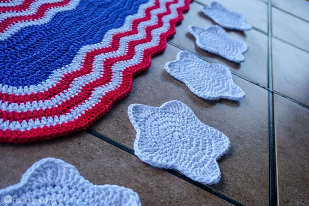 How to make a star coaster with crochet