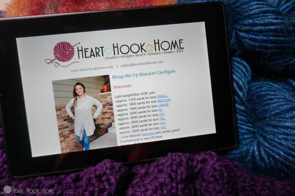 Kindle and Crochet