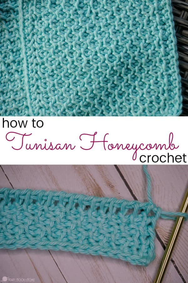 How to Tunisian Honeycomb Crochet