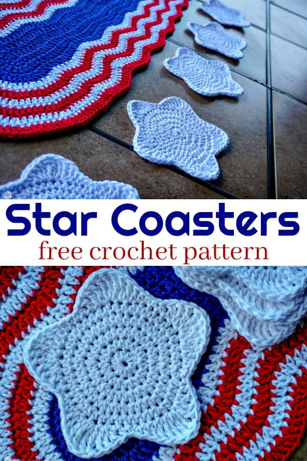 Star Coaster Free Crochet Pattern