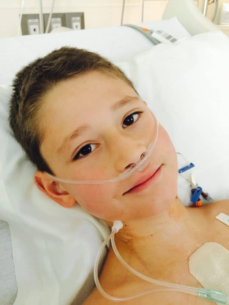 Children recovering from heart surgery are the strongest!