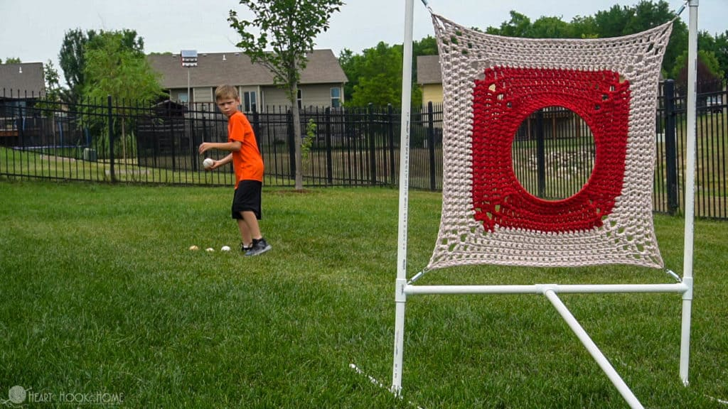 How to make a target practice for kids