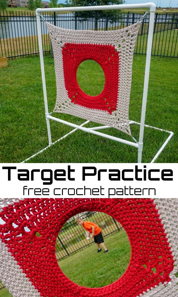 Crocheted Target Practice for Kids