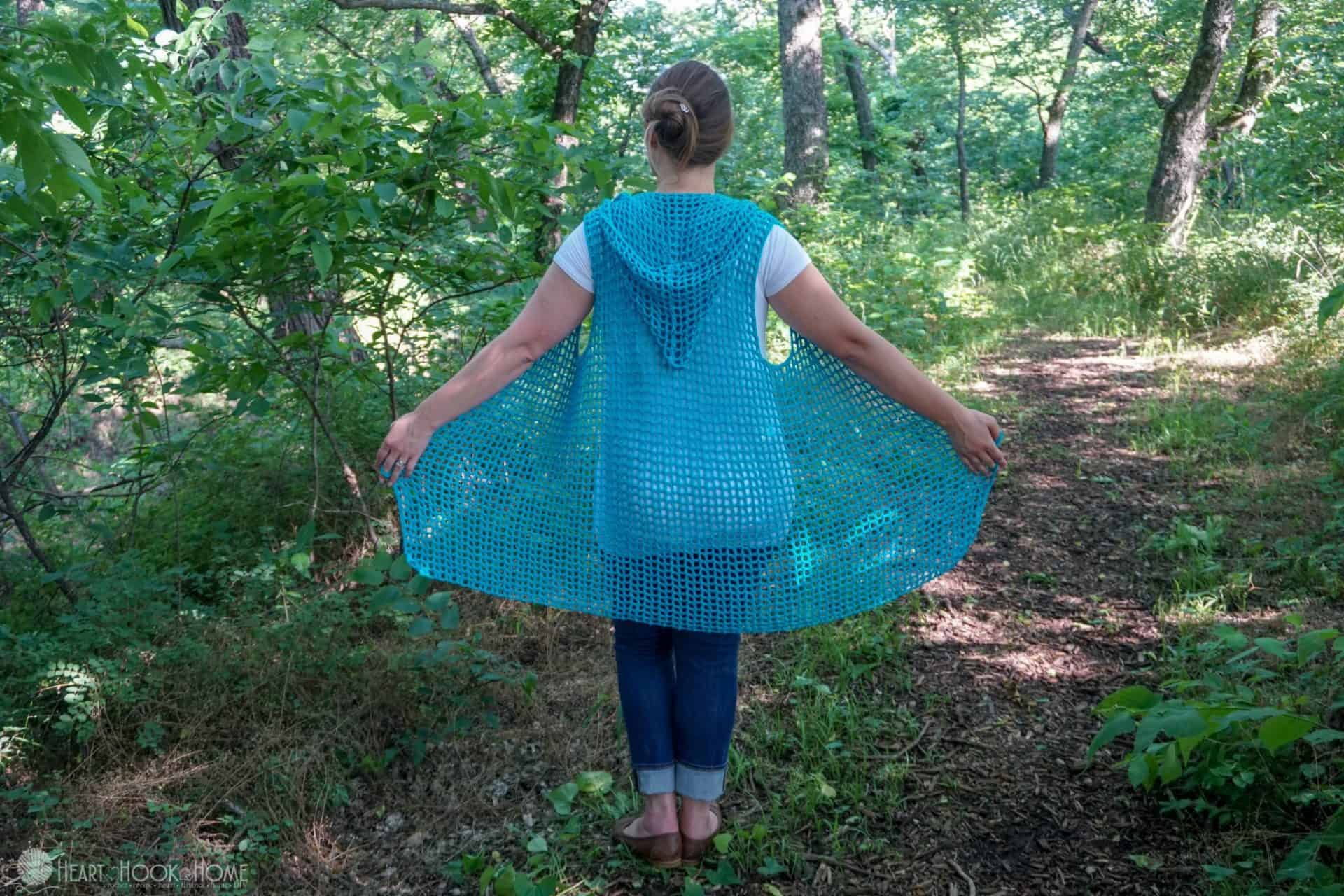 Sweet Summertime Lightweight Hooded Vest
