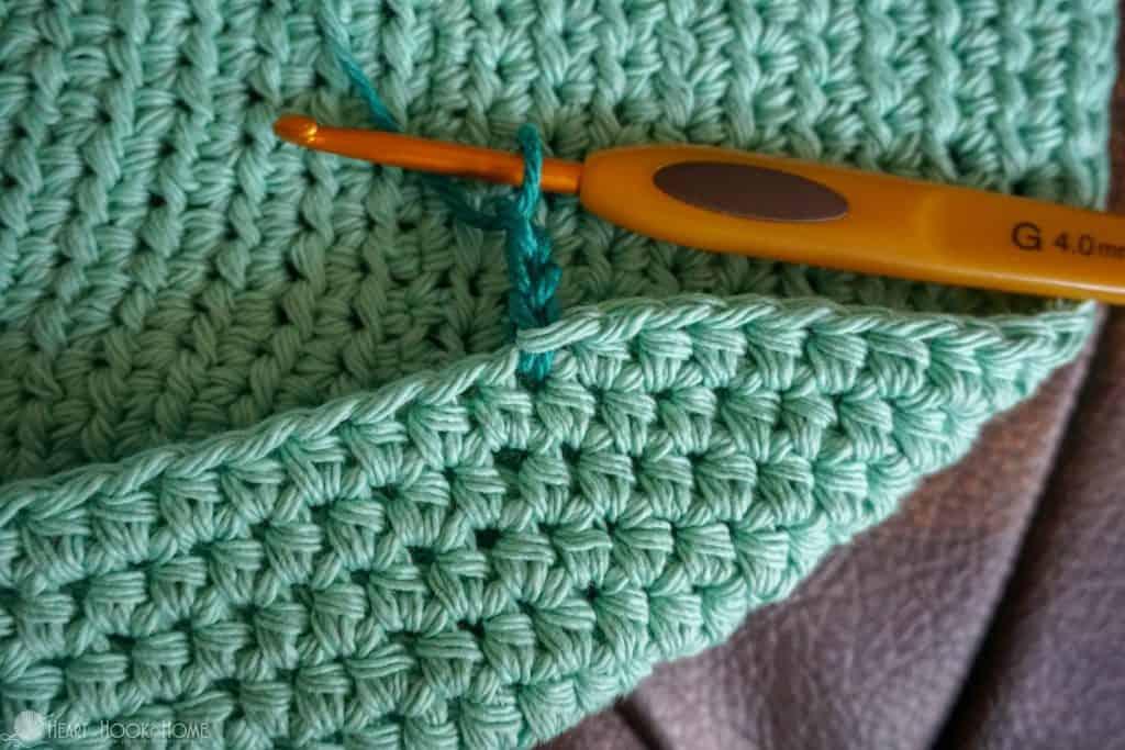 Starting a star stitch