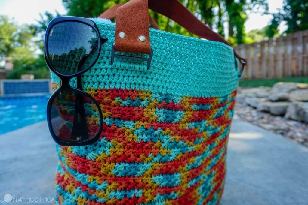 Beach Bag Free Crochet Pattern