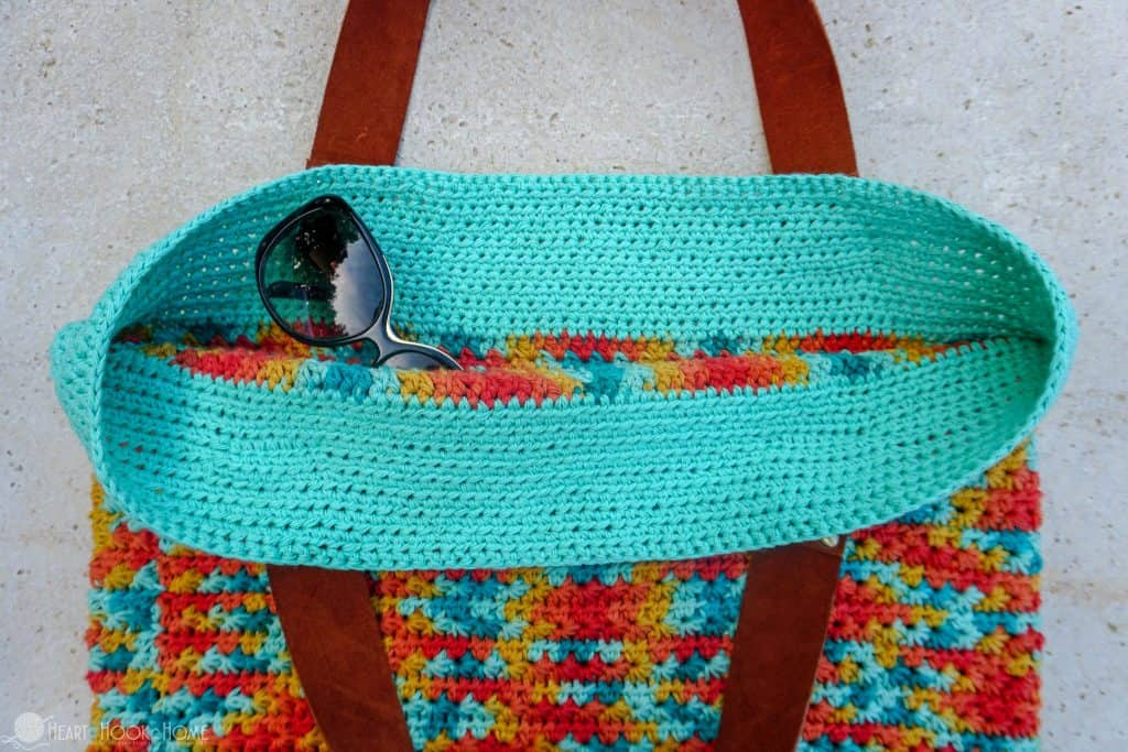Gorgeous beach bag crochet