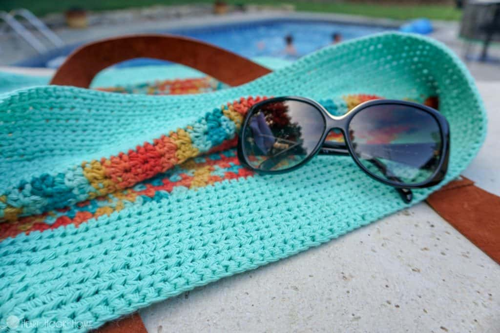 Life's a Beach Bag Free Crochet Pattern