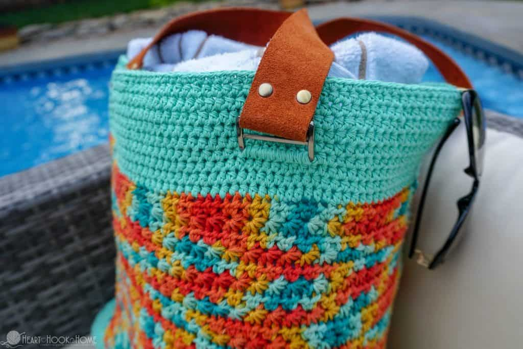 Lifes A Beach Bag Free Beach Bag Crochet Pattern