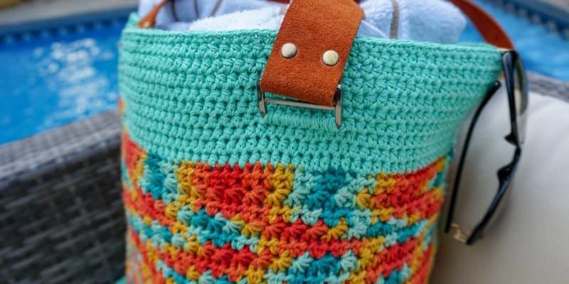Life's a Beach Bag: Free Beach Bag Crochet Pattern