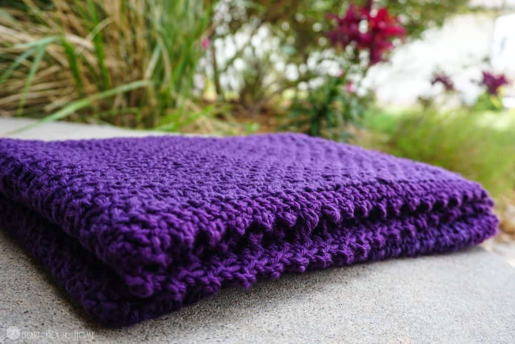 Juliet's baby blanket - a free crochet pattern