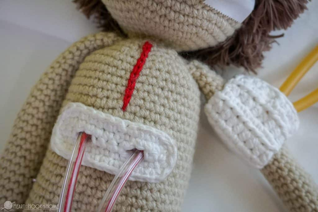 How to make a Heart Surgery Doll in Crochet