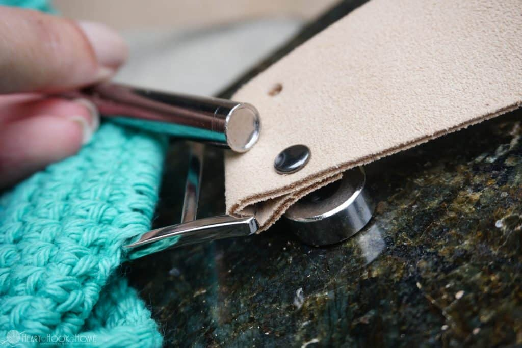 How to Add Double Sided Rivets to Leather