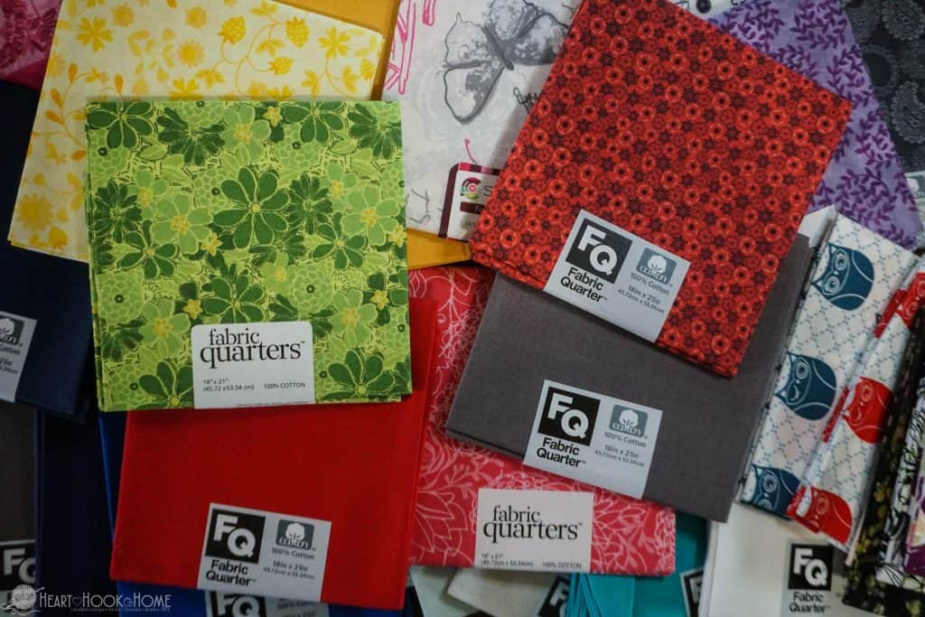 What are fat quarters?