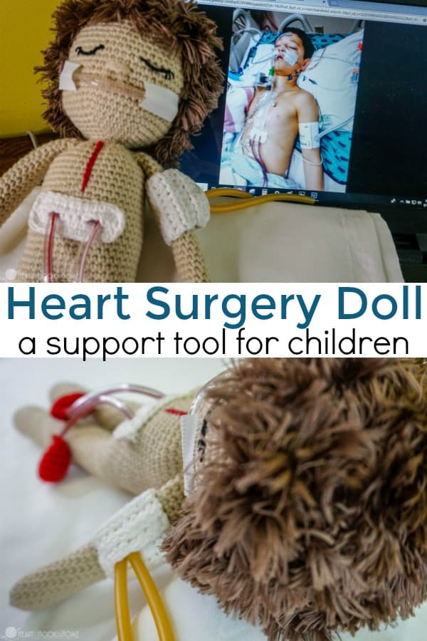 Heart Surgery support doll for children