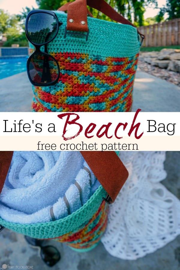 Life's a Beach Bag Free Crochet Pattern