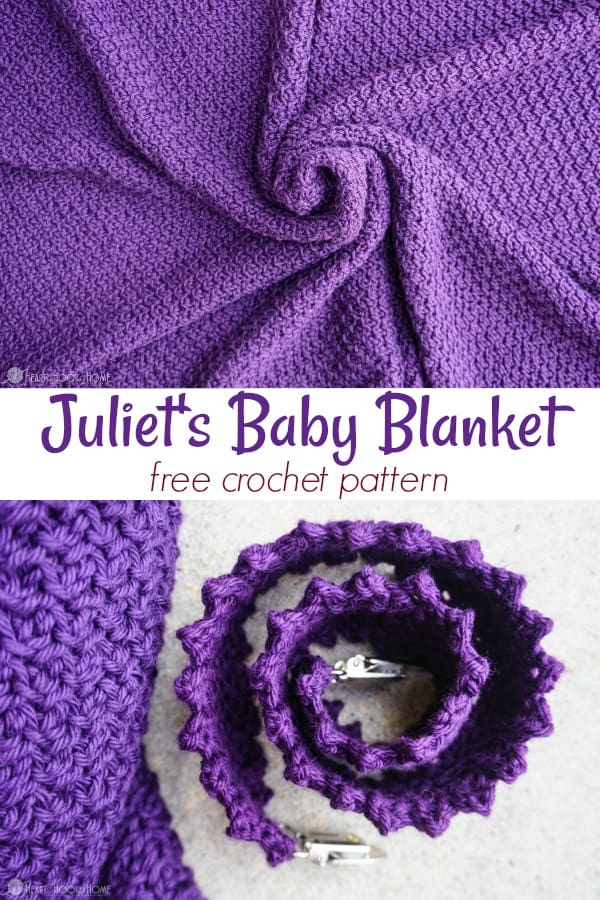 Juliets Blanket Baby Blanket Or Nursing Cover Crochet Pattern
