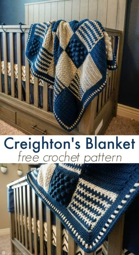 Creighton S Blanket Free Stitch Sampler Crochet Pattern