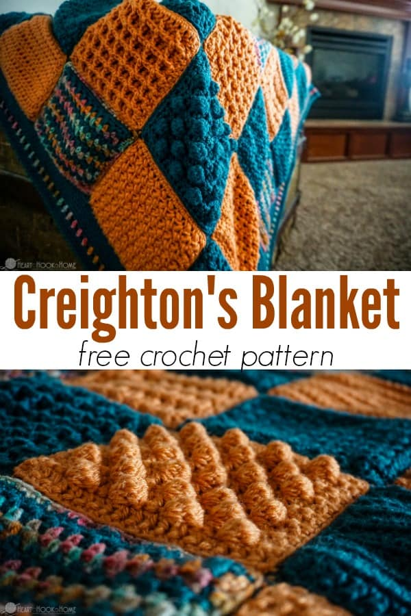 Creighton's Blanket Pattern