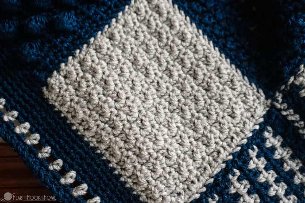 Creighton's Blanket stitch sampler