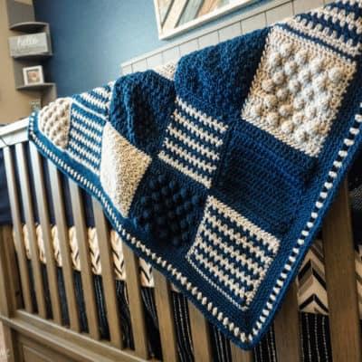Creighton's Blanket: Free Stitch Sampler Crochet Pattern