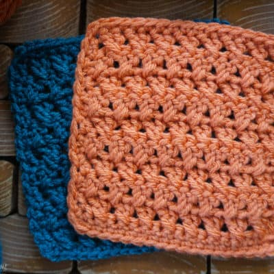 Crossed Double Crochet Stitch Tutorial