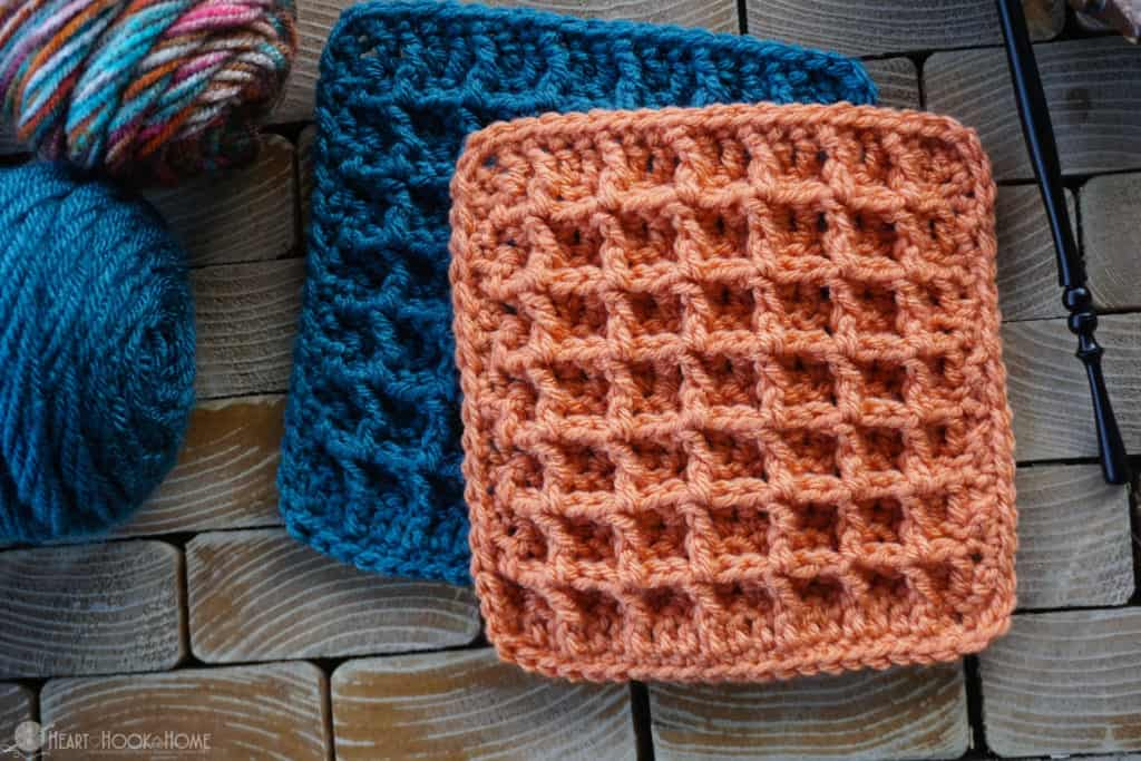 18333221689 Waffle Stitch Tutorial  Video and Written Instructions