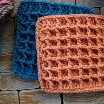 Waffle Stitch Tutorial