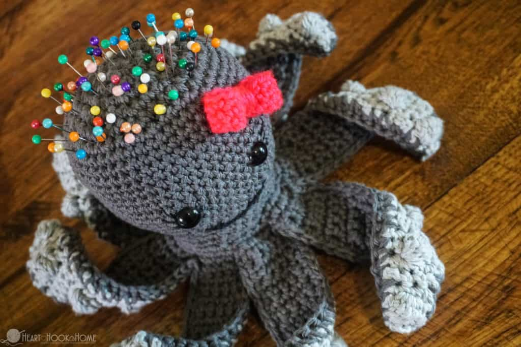 Penelope The Pin Cushion Octopus Free Crochet Pattern Amazing Octopus Crochet Pattern