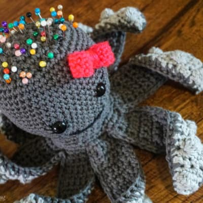 Penelope the Pin Cushion: Octopus Crochet Pattern