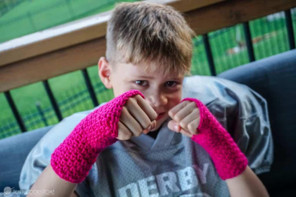 Texting gloves for kids