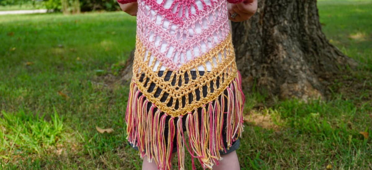 It's Shawl Good Crochet Pattern CHILD Size (12 – 18 Month)