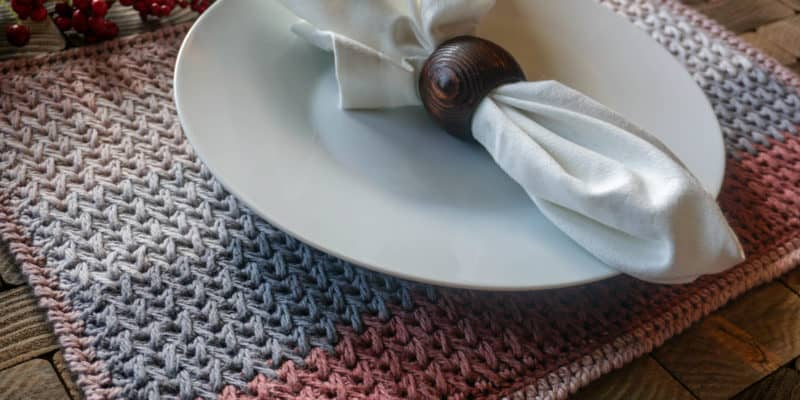 Nutmeg Nibbles: Free Placemat Crochet Pattern for Fall