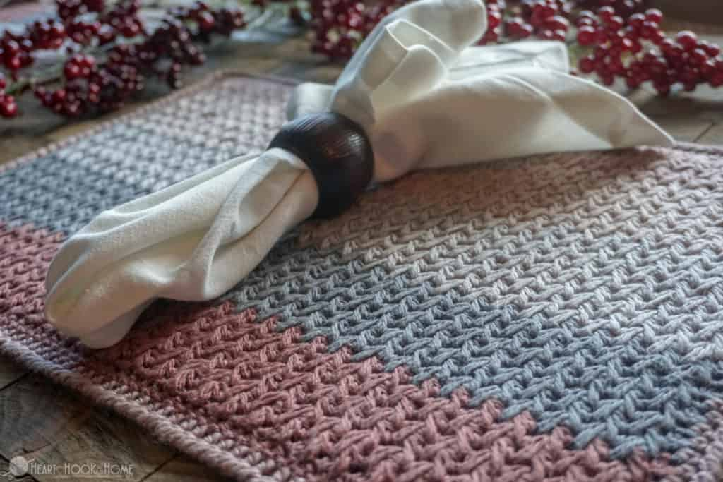 Nutmeg Nibbles Crocheted Placemats