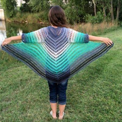 It's Shawl Good Crochet Pattern CHILD Size (12/14/16)