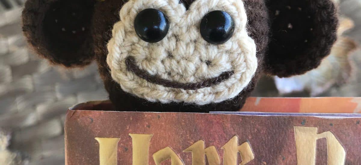 Monkey Bookmark Free Crochet Pattern