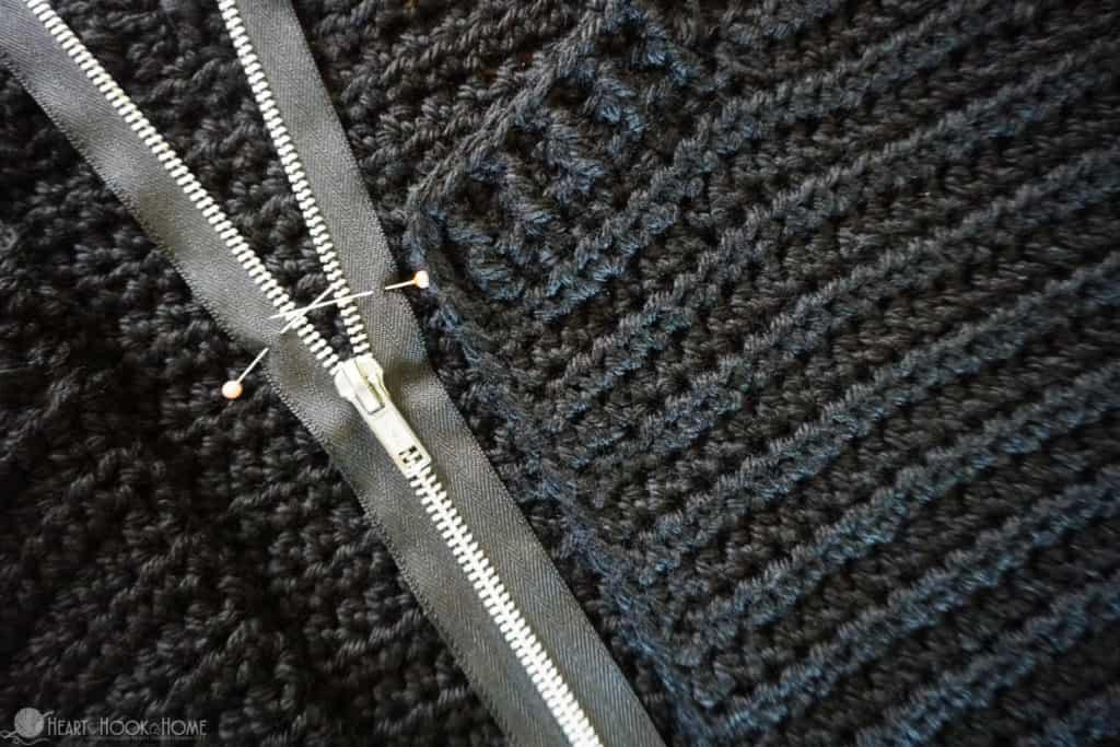 How to make a zipper shorter