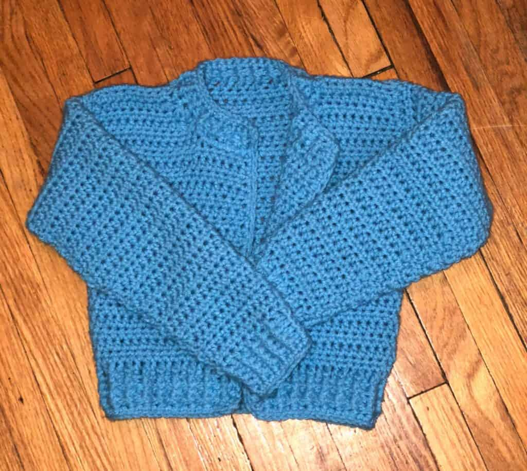 4/5T Bomber Cardi Crochet pattern
