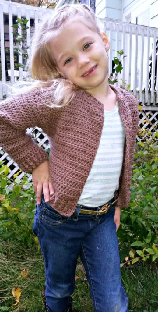 Bomber Cardi for Kids 6/8