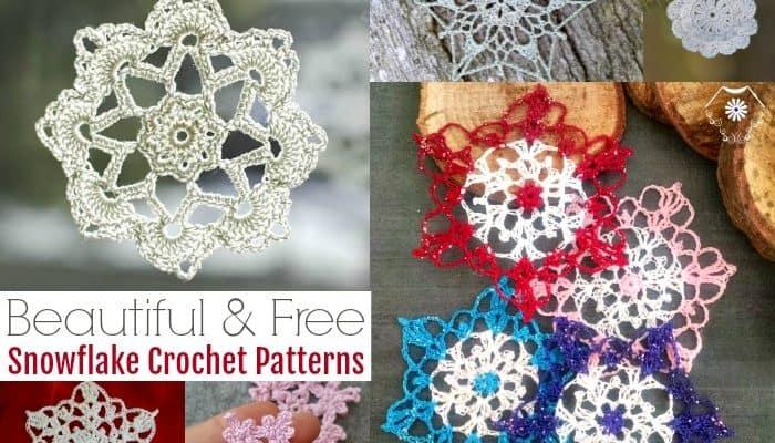 Beautiful Snowflake Crochet Patterns