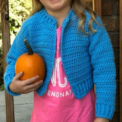Bomber Cardi for Kids (size 4/5T)