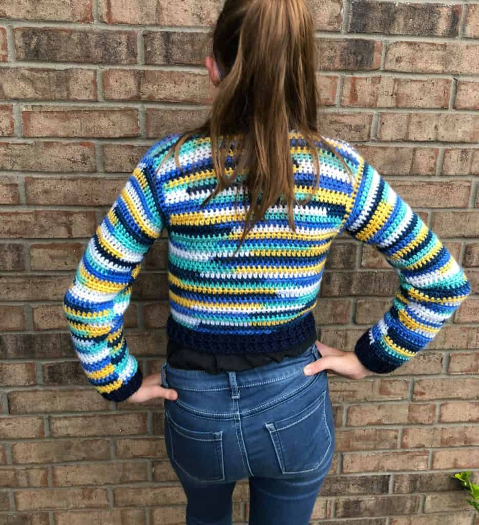 Bomber for Kids pattern size 10/12