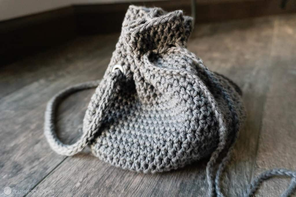 How to crochet a pouch