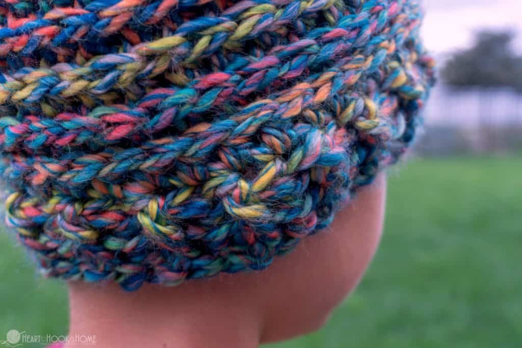 Crocheting a Child Size Beanie Crochet Pattern